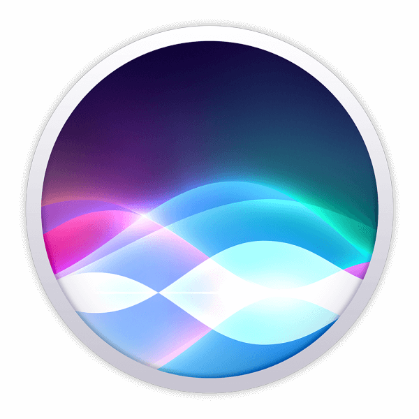 macOS Siri logo