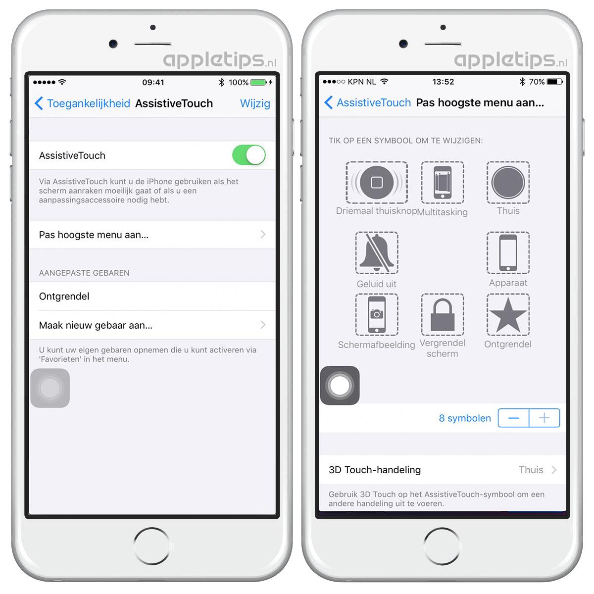 Wat doen als iphone ipad knoppen stuk zijn appletips - Hoe een stuk scheiden ...