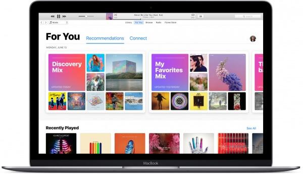 iTunes in macOS