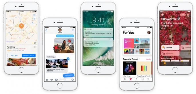 iOS 10.0.2 overzicht