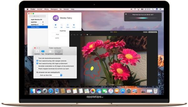 MacOS Sierra voorvertoning 2