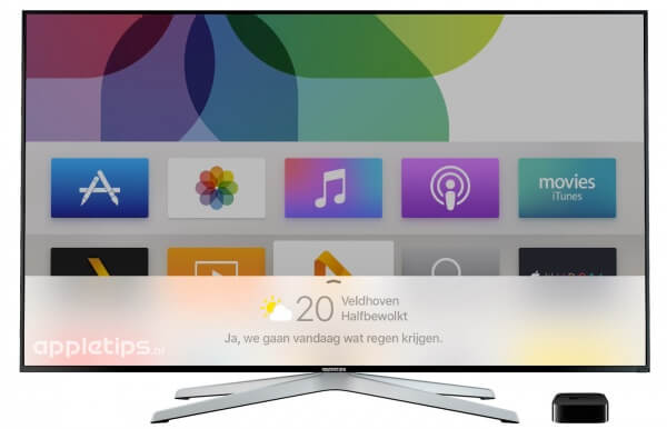 Apple TV 4 Siri in het Nederlands