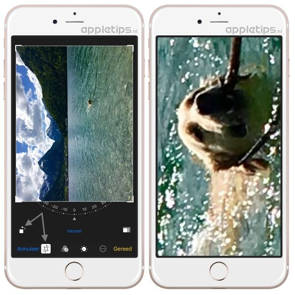 trucje laat je oneindig zoomen in foto's app