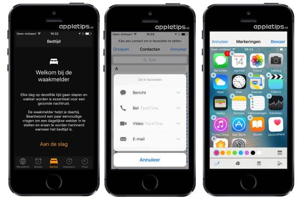 verborgen iOS 10 functies deel 2