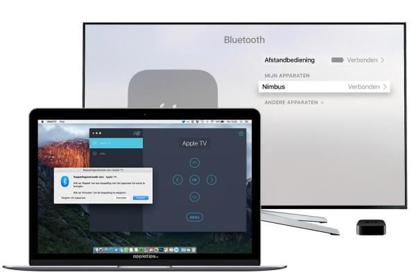 CiderTV gebruiken als toetsenbord op een Apple TV