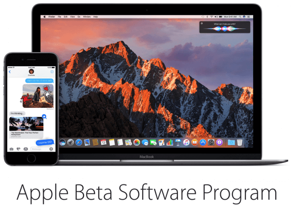 ios 10 beta 2 en macOS sierra beta 2
