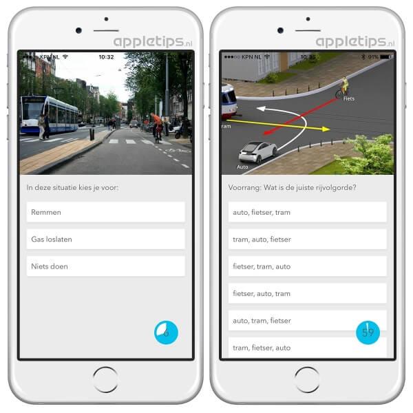 CBR-examen oefenen met deze iOS of Android applicatie