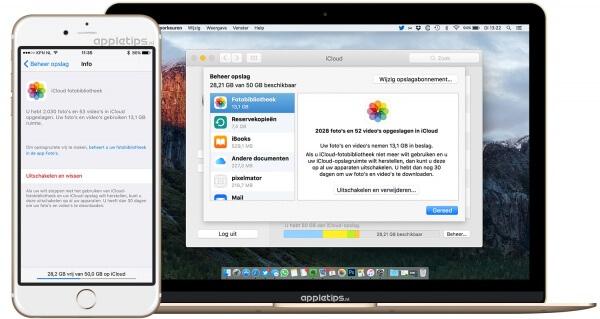 Alle foto's en video's verwijderen uit iCloud-fotobibliotheek
