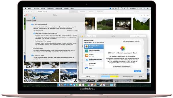 iCloud-fotobibliotheek uitschakelen op een Mac