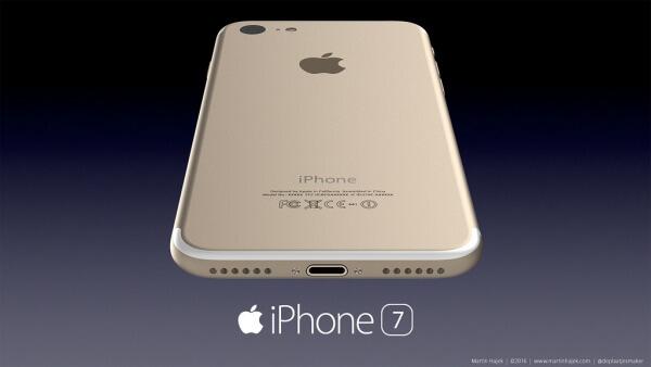 iPhone 7 concept volgens Martin Hajek