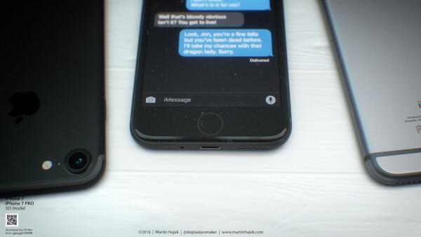 Force Touch thuisknop voor de iPhone 7 (iPhone 6SE)?
