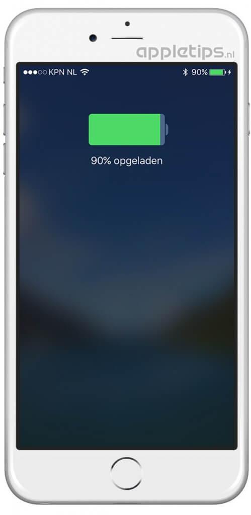 iPhone of iPad kalibreren bij problemen met opladen