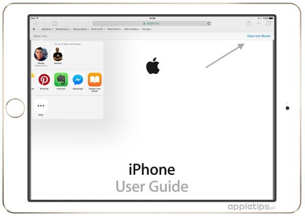 pdf-bestanden bewaren in iOS