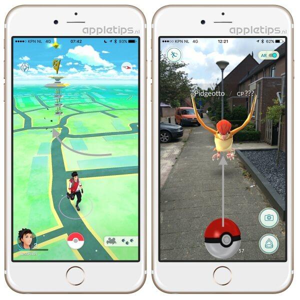 Pokémon Go: Pokémons vangen