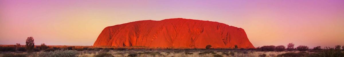 Uluru Rock Mountain