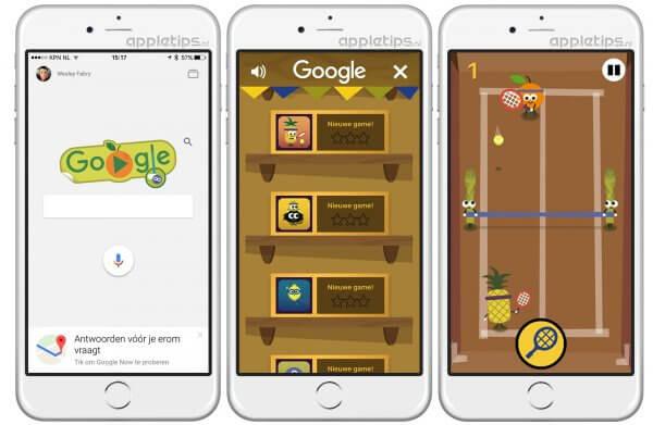 Olympische Spelen minigames van Google