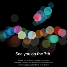 Apple speciaal event iphone 7
