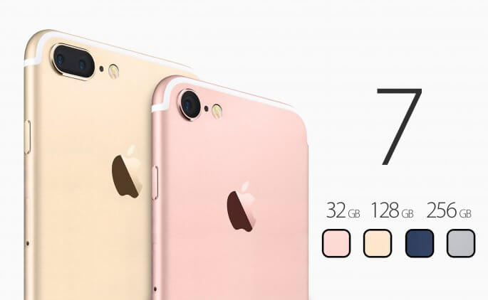 iPhone 7 opslag 32 gb