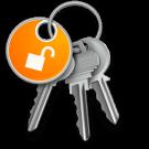 sleutelhangertoegang logo OS X Mac
