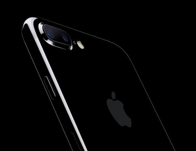 Dual-lens iPhone 7 camera