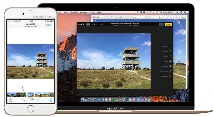 Foto's bewerken in iOS 10 en macOS sierra