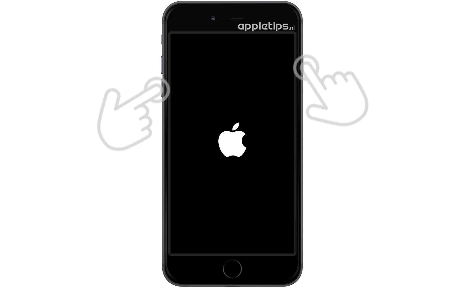 iphone 7 plus geforceerd of dfu mode herstarten appletips. Black Bedroom Furniture Sets. Home Design Ideas