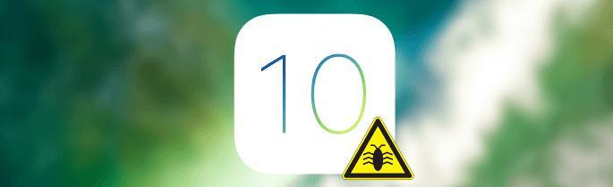 iOS 10 bugs en problemen oplossen