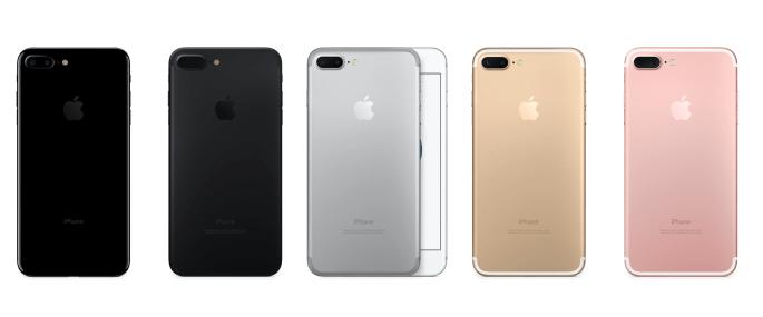 iPhone 7 variaties