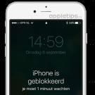 iphone geblokkeerd, wat nu