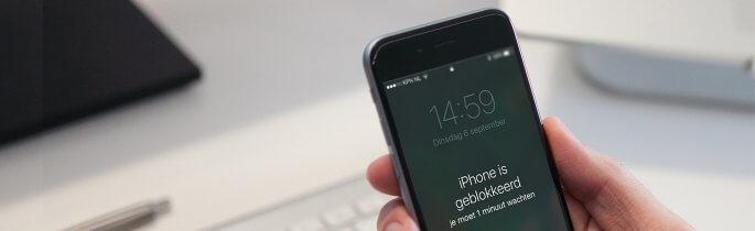 iphone geblokkeerd uitgelichte banner