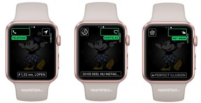 De nieuwe standaard complicaties in watchOS 3
