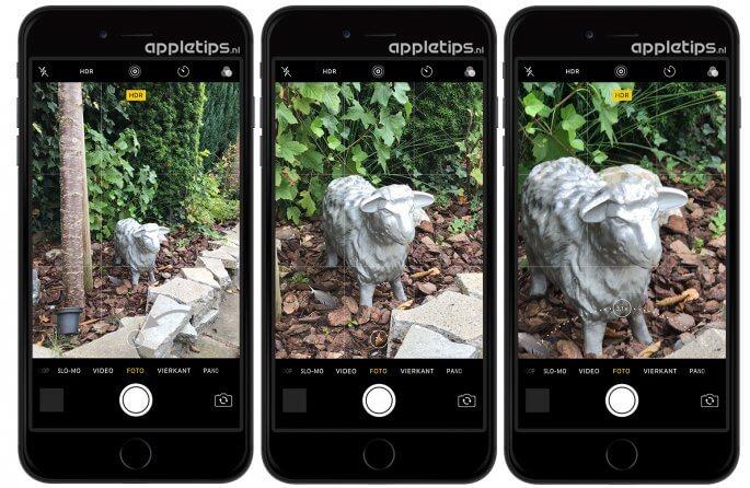Optisch zoomen iPhone 7 Plus