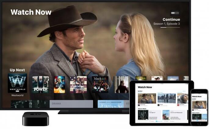 TV app voor Apple TV en tvOS en iOS