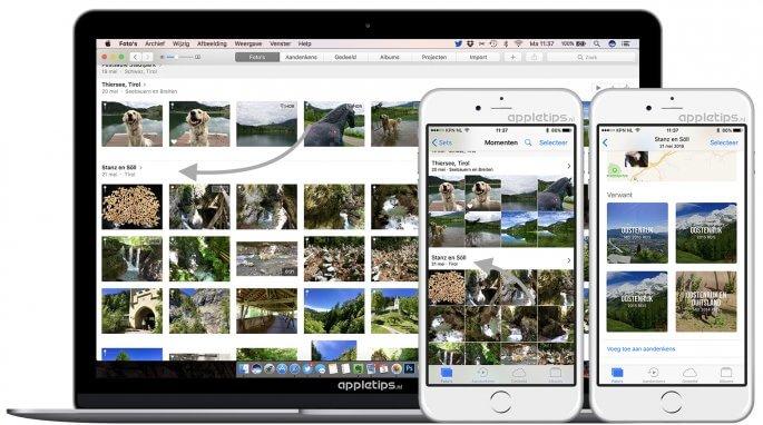 handmatig aandenkens aanmaken in iOS 10 en macOS