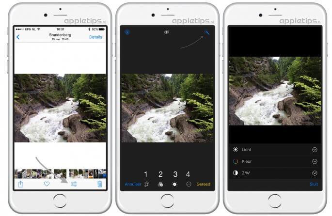 Live Photos bewerken in iOS 10 en macOS Sierra