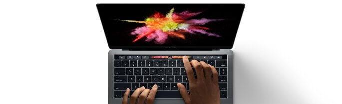 macbook pro uitgelicht