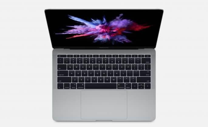 macbook pro zonder touch bar