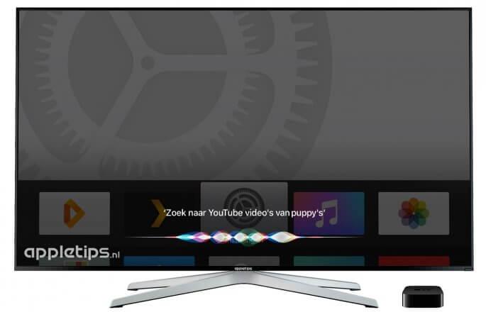 Zoeken naar YouTube video's in tvOS 10 met Siri