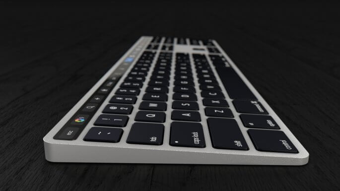 Magic Keyboard met Touch Bar concept