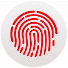 Touch ID macOS logo