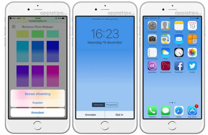 dock verbergen in iOS met trucje