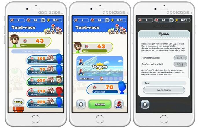 alle Super Mario Run tips