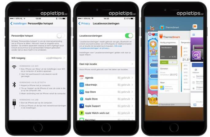 batterijduur verlengen door apps niet af te sluiten