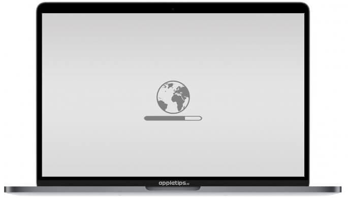 Internet Recovery op een Mac uitvoeren voor clean install