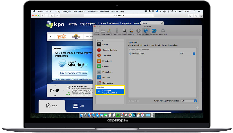 Microsoft Silverlight werkt niet (online TV kijken) - appletips