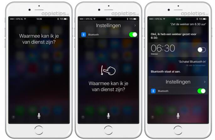 Siri geschiedenis bekijken in iOS