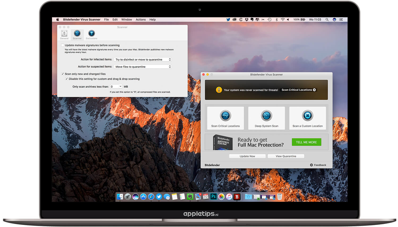 virus scan for macbook air
