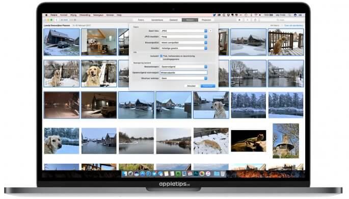 Video's en foto's exporteren in macOS OS X