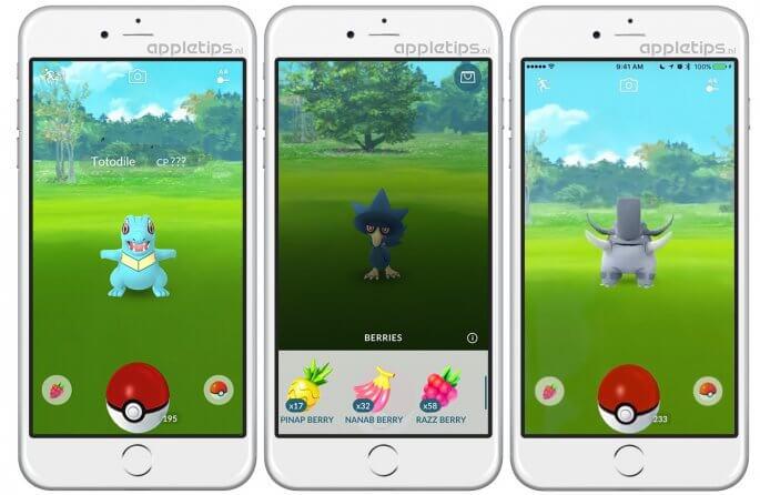 Pokémon Go update februari 2017