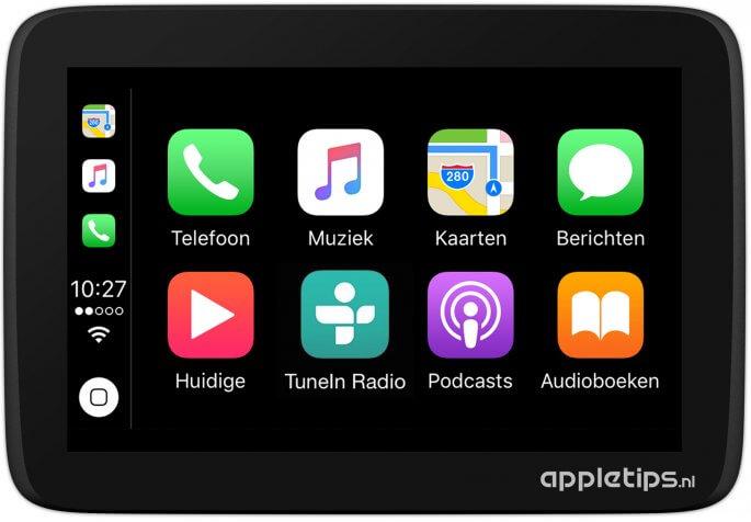 recente apps in CarPlay